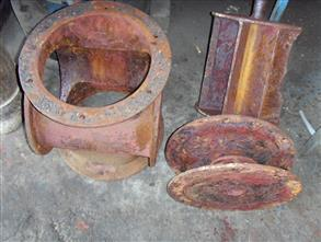 Rotary valves suffering from severe erosion and corrosion