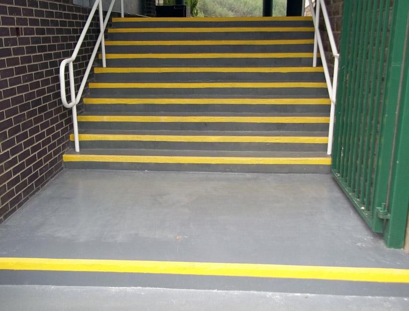 Image Result For Paint Concrete Steps