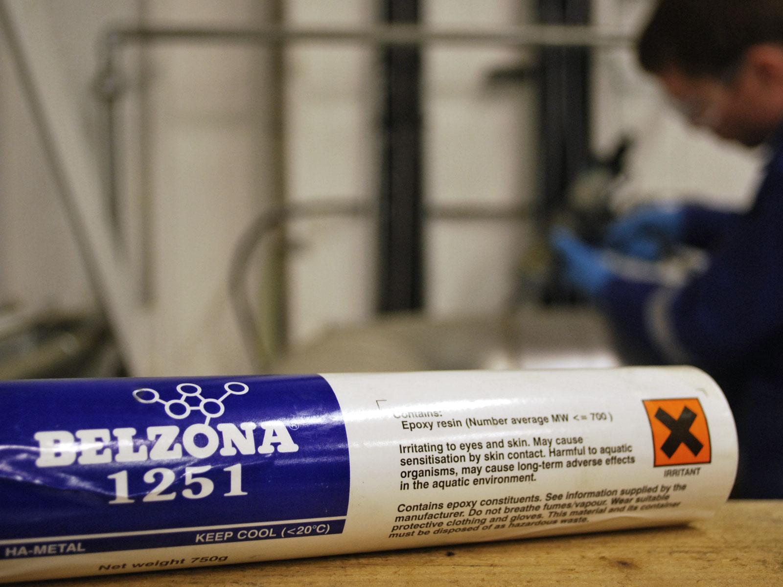 Belzona 1251 Heat Activated Repair Composite