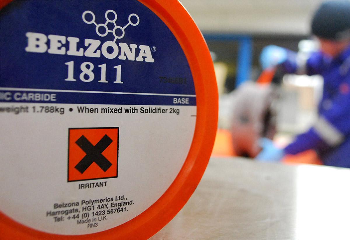 Belzona 1811 Ceramic Carbide Protective Coating