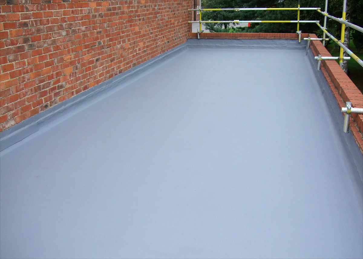 Belzona 3111 waterproofing membrane for roofs for Flexible roofing material