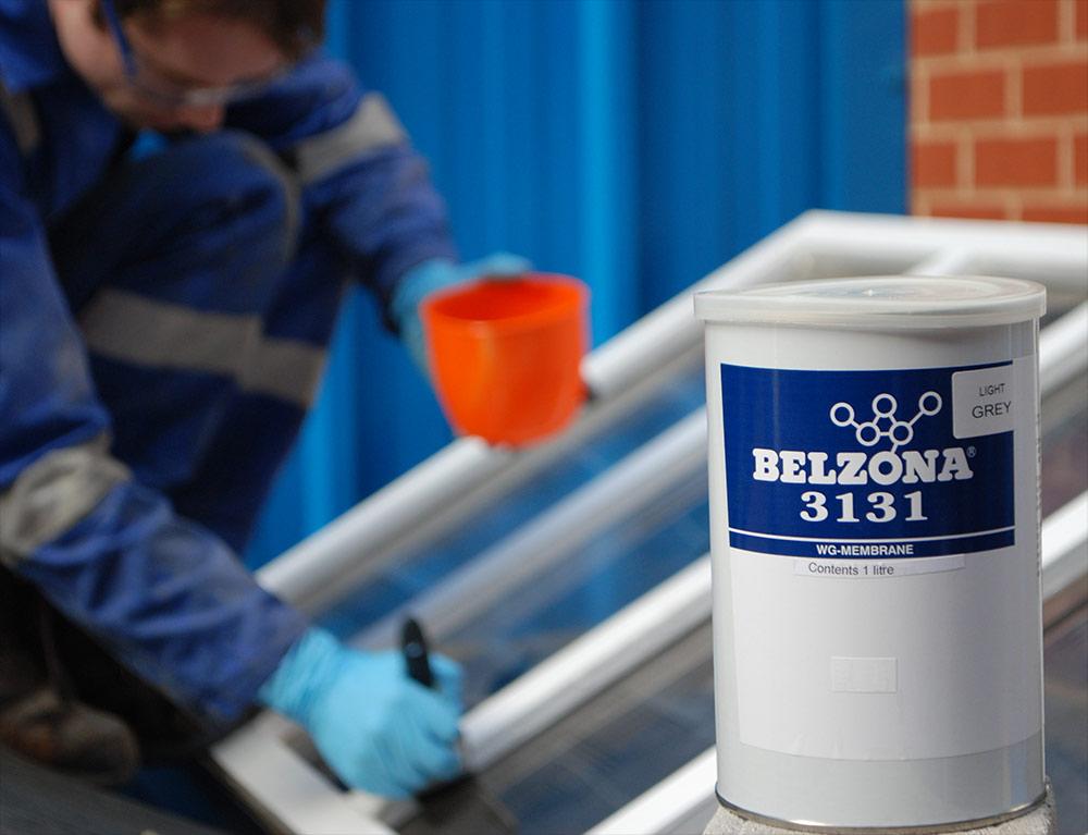 Belzona 3131 Wg Membrane Rain Resistant Roof Membrane