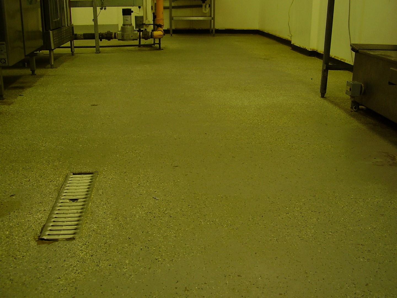 Uneven Kitchen Floor Belzona 5231 Sg Laminate Epoxy Floor Coating