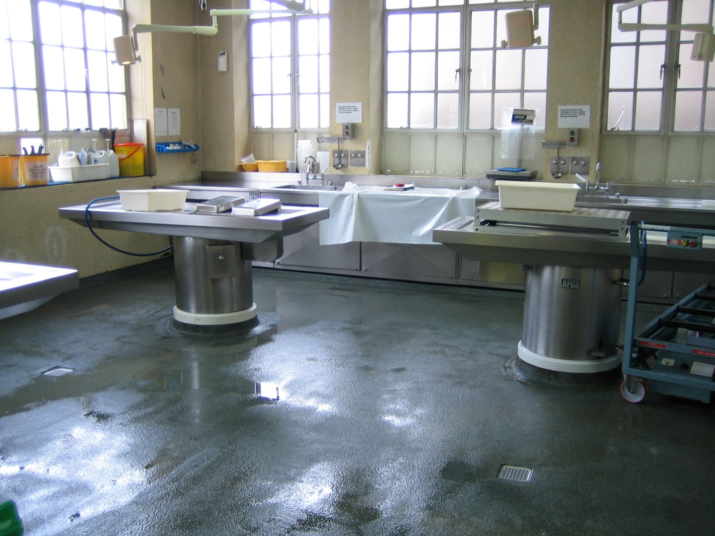 Uneven Kitchen Floor Belzona 5231 Sg Laminate Epoxy Floor Coating
