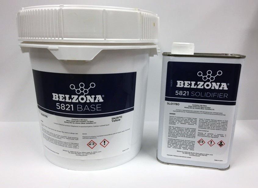 Belzona 5821 packaging