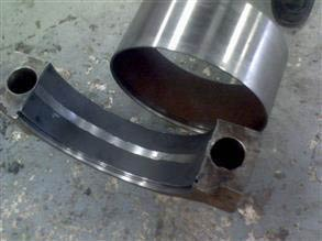 Bearing housing rebuild