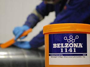 Packaging of Belzona 1141 (Conductive Metal)