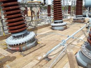 High voltage turrets rapidly sealed