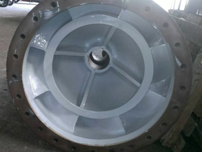 Pump casing protected from erosion and corrosion