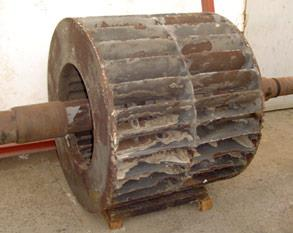 Deteriorated impeller