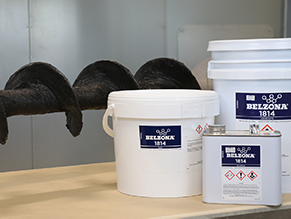 Belzona 1814 restores lost profile and provides abrasion protection