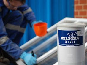 Conditionnement de Belzona 3131 (WG Membrane)