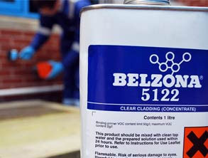 Confezione di Belzona 5122 (Clear Cladding Concentrate)