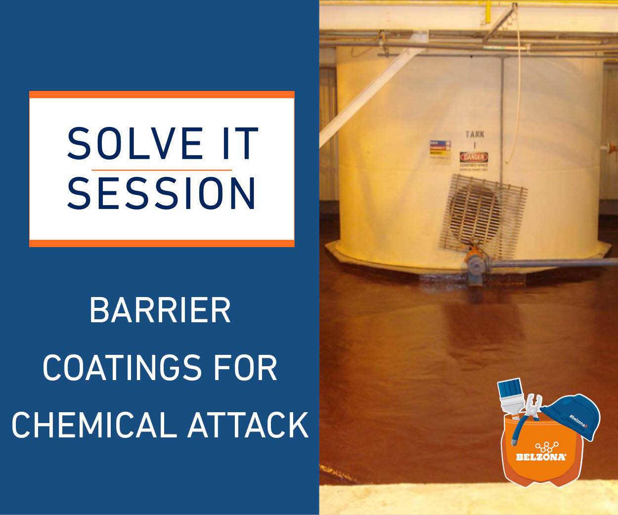"Barrier Coatings for Chemical Attack ""Solve it Session"" Webinar - 26th of July"