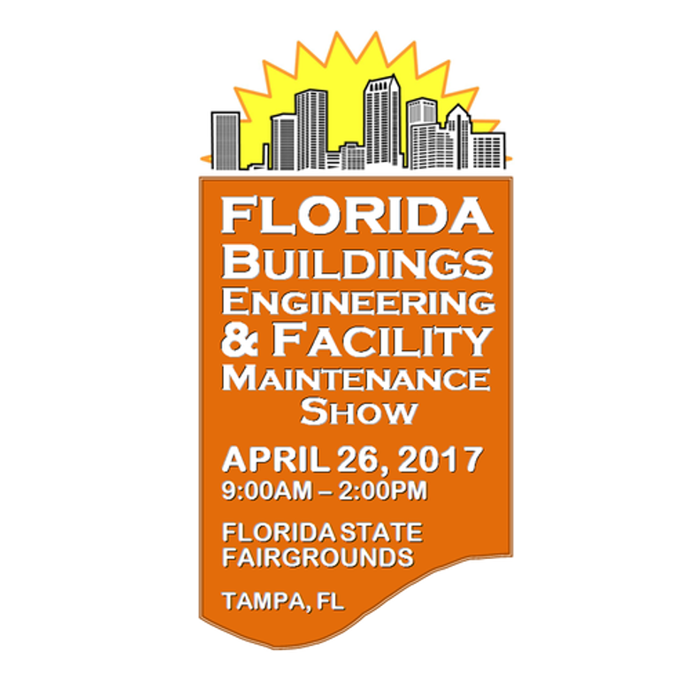 Visit us at the Florida Buildings and Facility Maintenance Show
