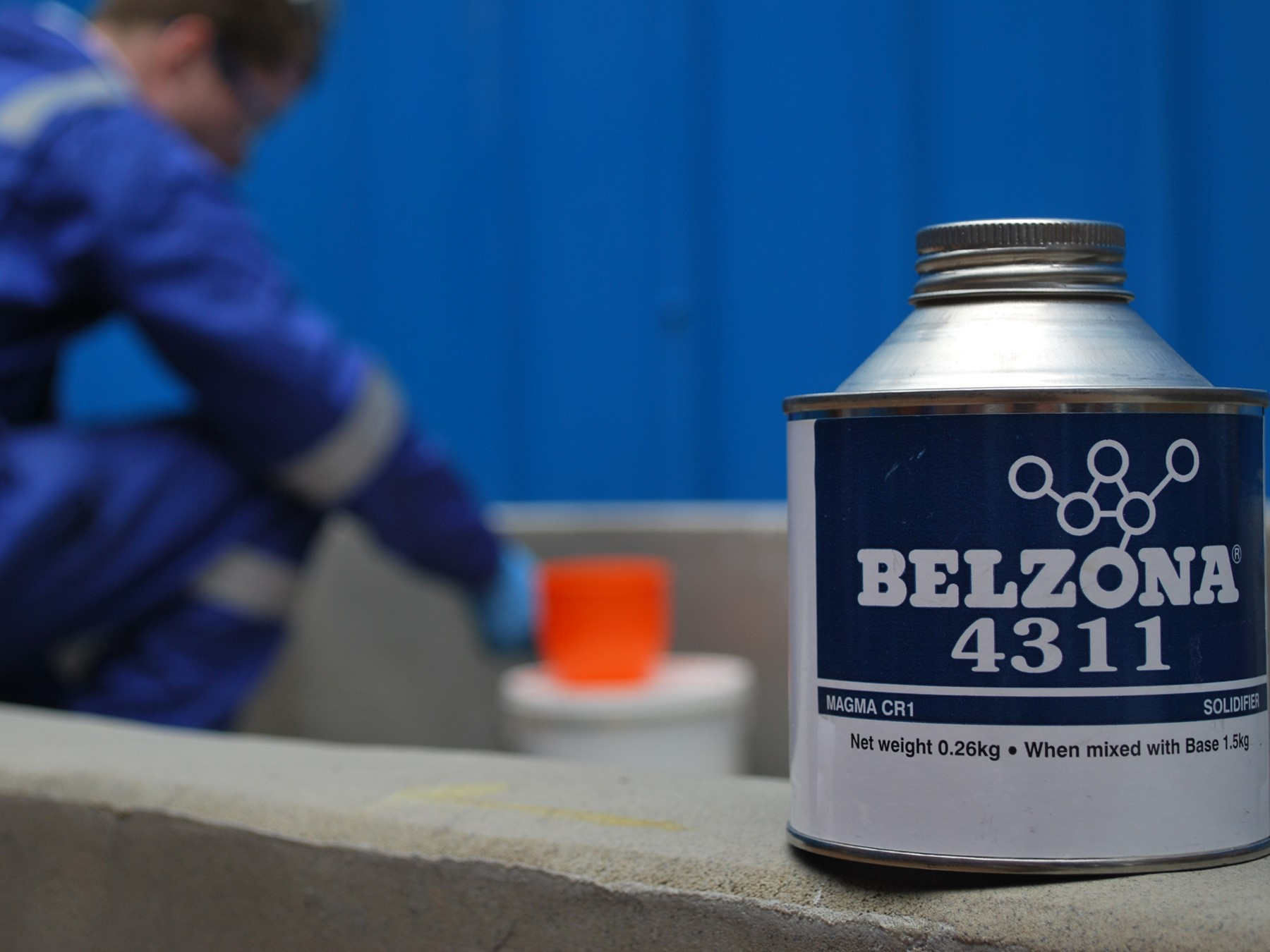 INTRODUCING A REFORMULATED CHEMICAL RESISTANT COATING - BELZONA 4311